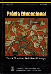 Visualizar v. 1 n. 1 (2005): Trabalho e Educação
