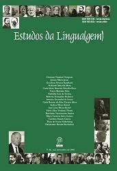 Visualizar v. 16 n. 2 (2018): Estudos da Língua(gem) - ISSN: 1982-0534