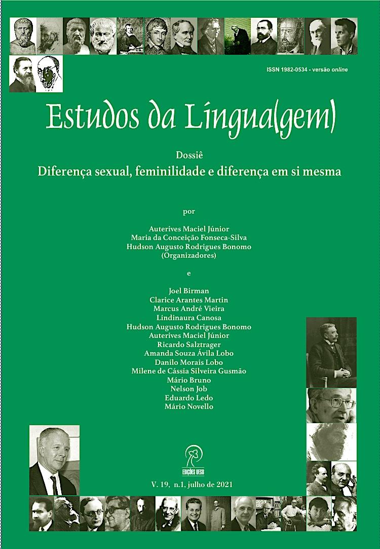 Visualizar v. 19 n. 1 (2021): Estudos da Língua(gem)