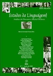 Visualizar v. 1 n. 1 (2005): Estudos da Língua(gem) - ISSN: 1982-0534