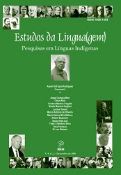 Visualizar v. 4 n. 1 (2006): Estudos da Língua(gem) - ISSN: 1982-0534