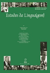 Visualizar v. 9 n. 1 (2011): Estudos da Língua(gem) - ISSN: 1982-0534