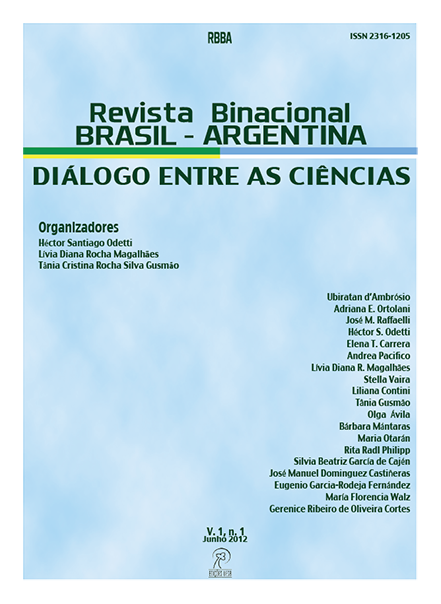Visualizar v. 1 n. 1 (2012)