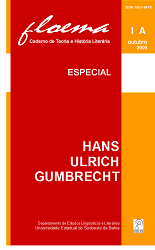 Visualizar n. 1A (2005): Especial: Hans Ulrich Gumbrecht