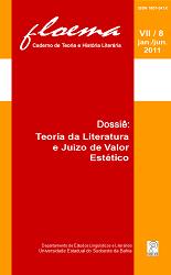 Visualizar n. 8 (2011): Dossiê: Teoria da literatura e juízo de valor estético