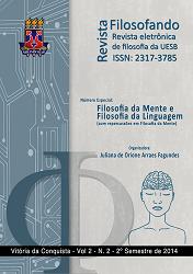 Visualizar v. 2 n. 2 (2014): VOL. 2, NO 2 (2014): REVISTA FILOSOFANDO