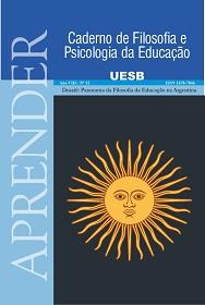 Visualizar v. 1 n. 13 (2014): Ano VIII, Nº 13, jul./dez. Dossiê: Panorama da Filosofia da Educação na Argentina.