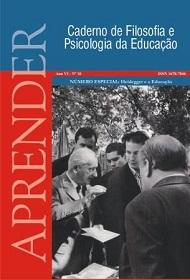 Visualizar v. 1 n. 10 (2008): Ano VI, Nº 10, jan./jun. Especial: Heidegger e a Educação.