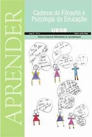 Visualizar v. 2 n. 9 (2007): Ano V, Nº 9, jul./dez. Especial: Dificuldades de Aprendizagem.