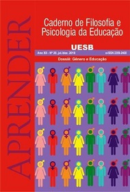 Visualizar n. 20 (2018): Nº 20 - Dossiê: Gênero e Educação