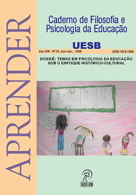 Visualizar n. 23 (2020): DOSSIÊ TEMAS EM PSICOLOGIA DA EDUCAÇÃO SOB O ENFOQUE HISTÓRICO-CULTURAL